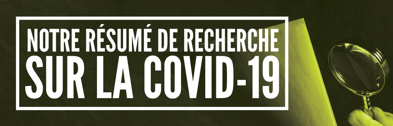 Resume de recherche sur la COVID-19